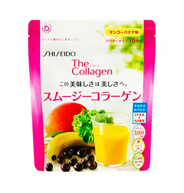 SHISEIDO The Collagen Smoothie - Mango and Banana Flavour