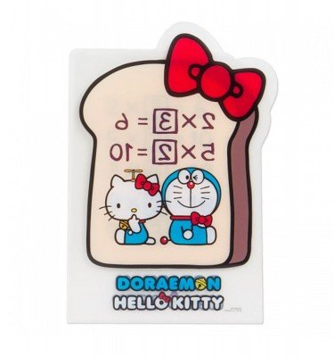 SANRIO Hello Kitty and Doraemon Ankipan Clear File Folder