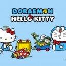 SANRIO Hello Kitty and Doraemon Ankipan Clear File Folder