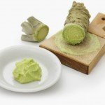 Japanese raw wasabi