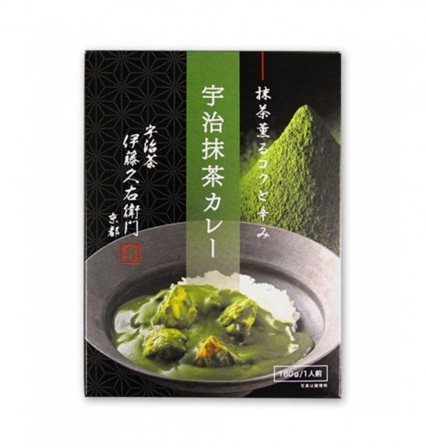 Itohkyuemon Matcha Curry Made in Japan