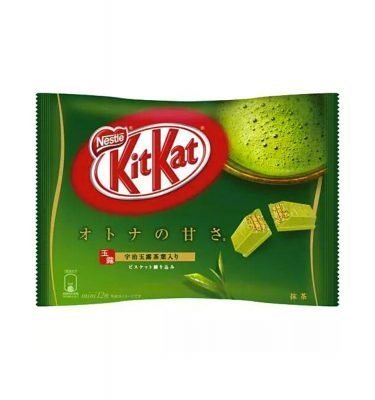 KIT KAT Matcha Green Tea with Uji Gyokuro – With Uji Gyokuro