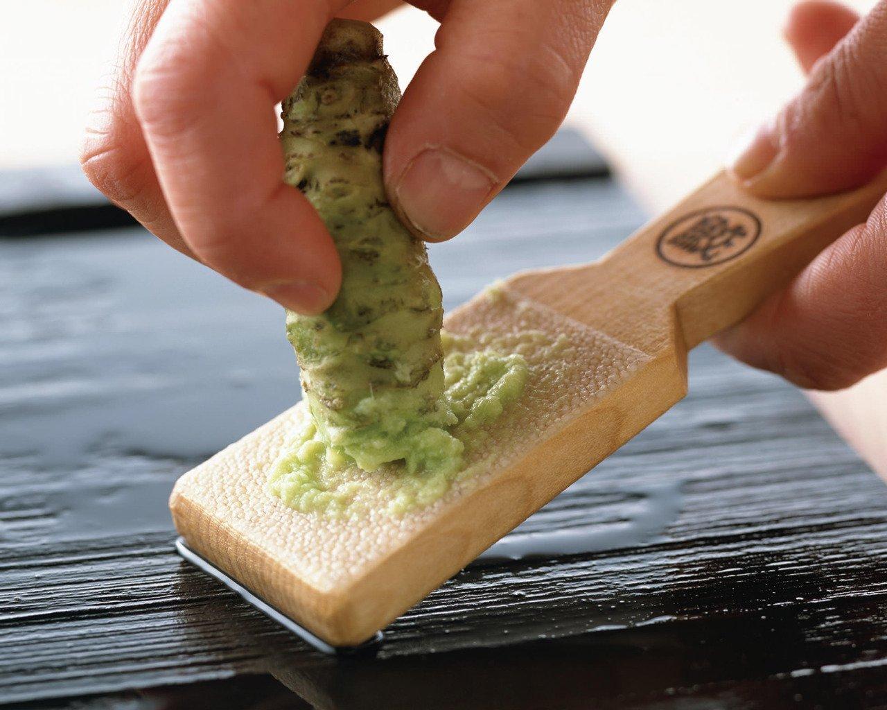 Japanese wasabi maker