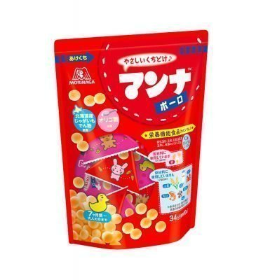 MORINAGA Manna - Round Cookies from 7 Months Old