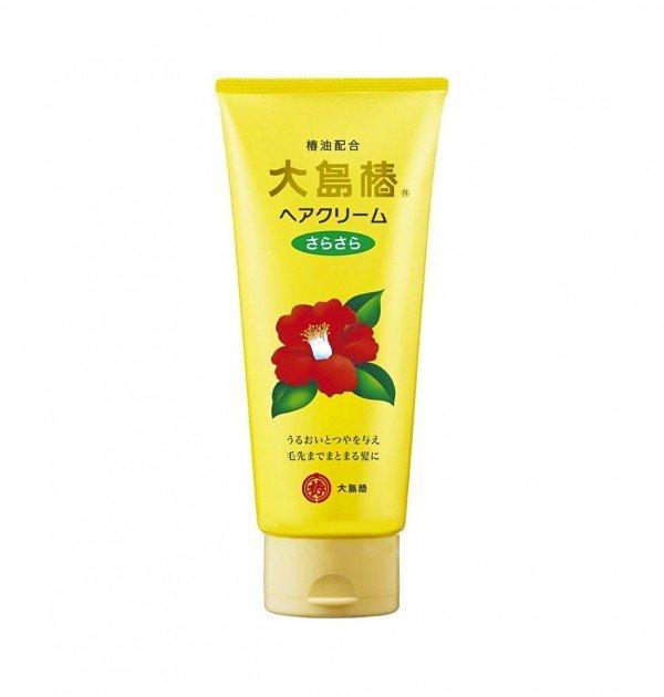 OSHIMA TSUBAKI Hair Cream Sara Sara - 160g