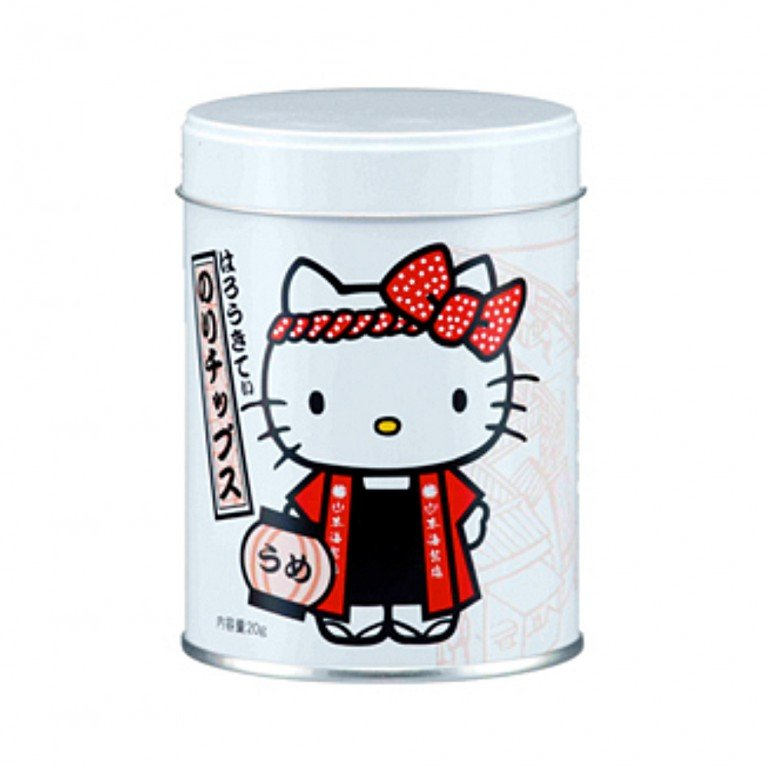 Hello Kitty Seaweed Snack Plum