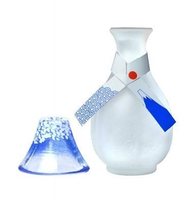 Mount Fuji Sake Set