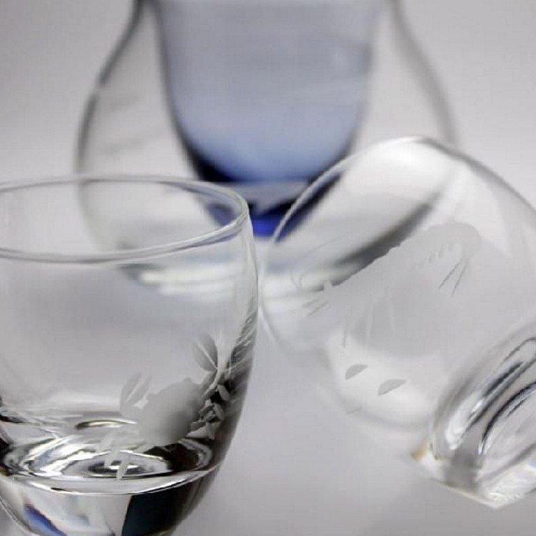 Cold Sake Set Ocean - Ice Pocket Blue