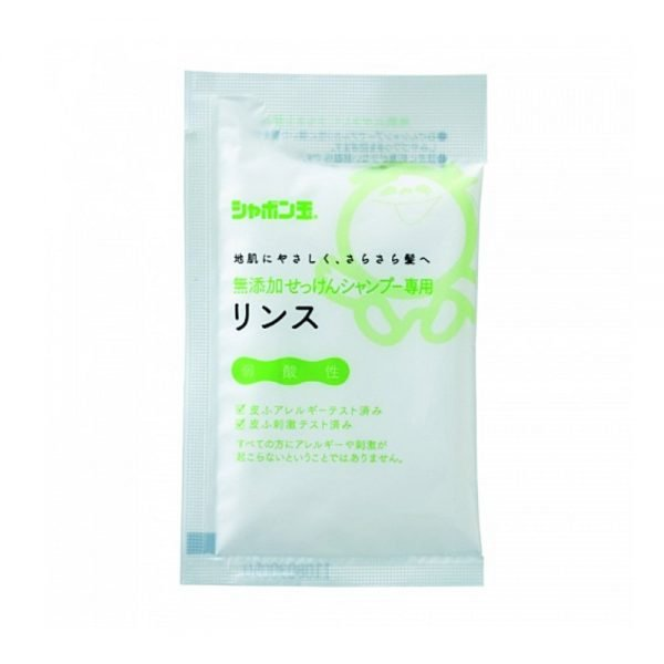 SHABONDAMA Mutenka Non-Additive Soap Rinse - Trial 15ml x 5 Sachets