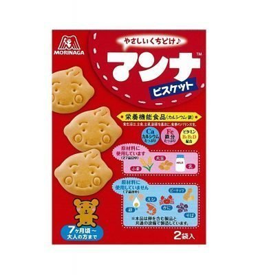 MORINAGA Manna - Biscuits from 7 Months Old
