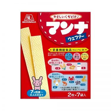 MORINAGA Manna - Wafer Snack from 7 Month Old