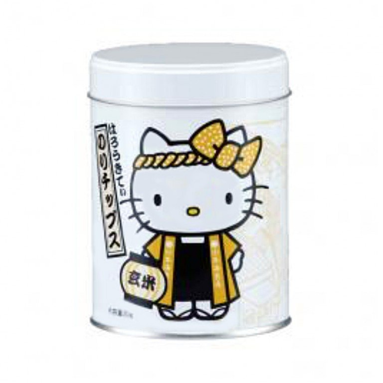 Hello Kitty Seaweed Snack Genmai Brown Rice