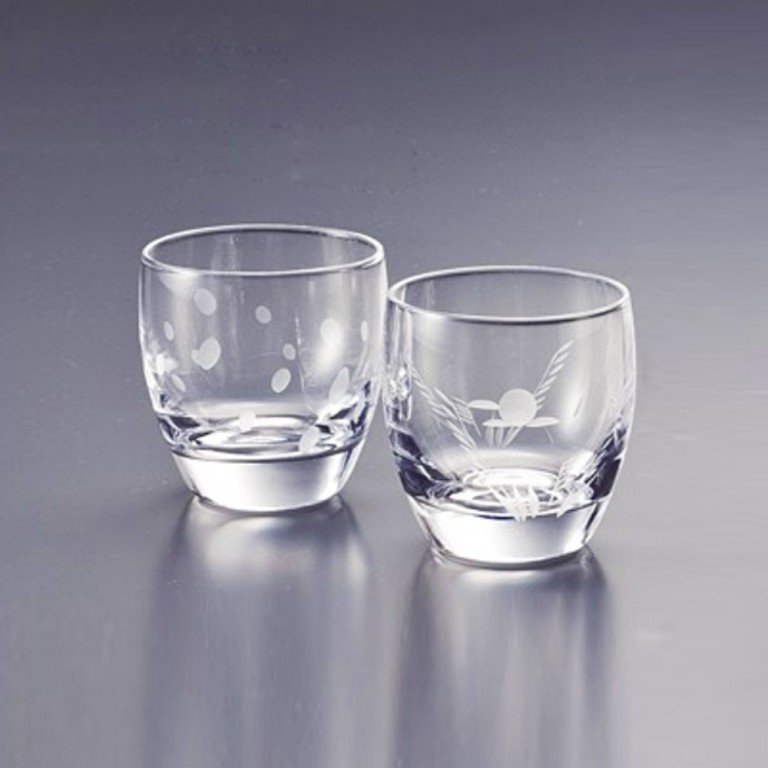 SASAKI Cold Sake Set - Ice Pocket Purple