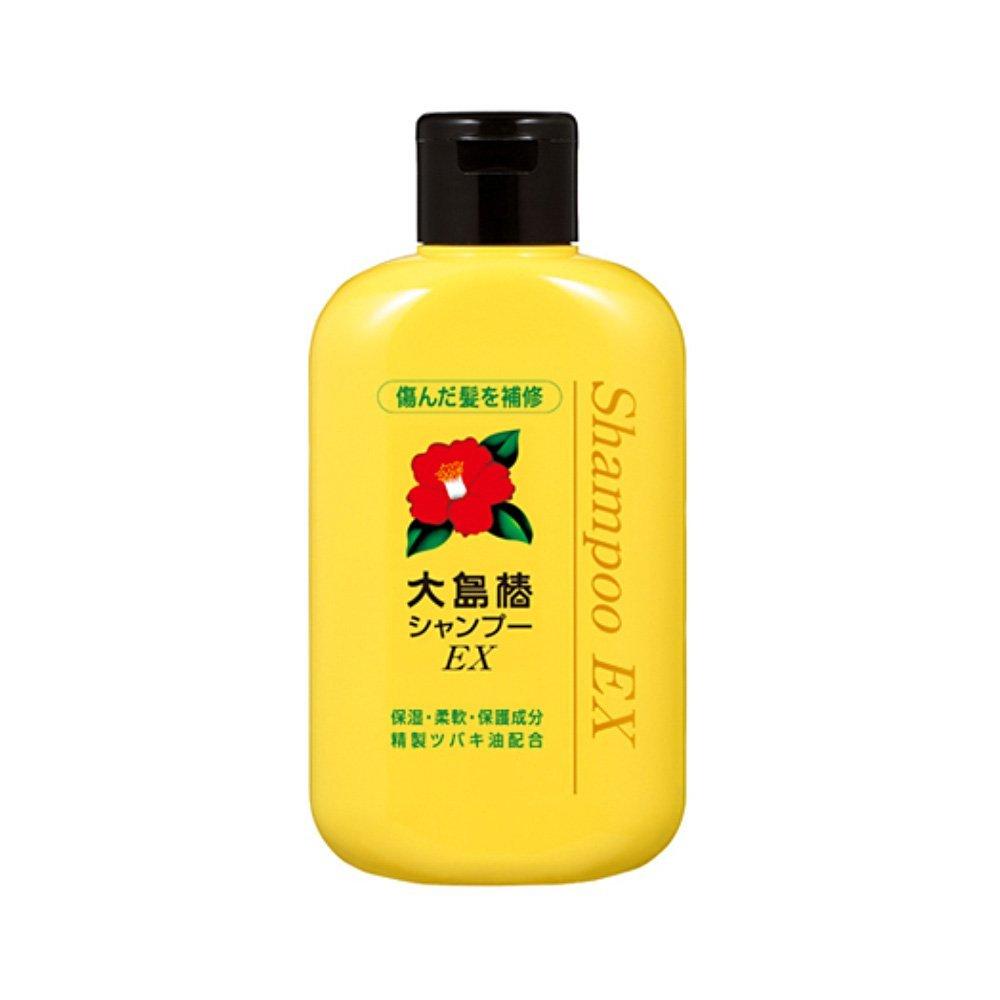 Oshima Tsubaki Ex Shampoo Purified Camellia Oil Animal