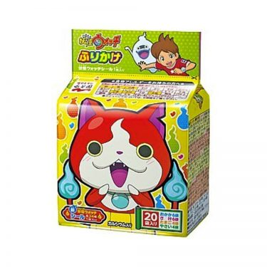 NAGATANIEN Yokai Watch Furikake Rice Seasonings - 20 Sachets