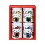 YAMAMOTO NORITEN Hello Kitty Seaweed Snack Gift Pack - 20g x 4 Cans
