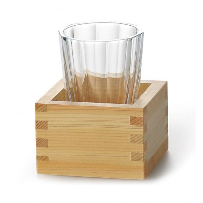 Image of masu (the glass is sold separately)