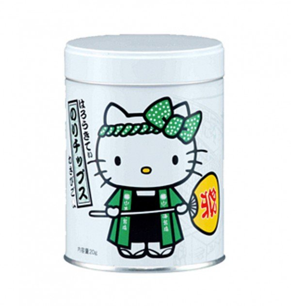 Hello Kitty Seaweed Snack Wasabi Sesame Seeds