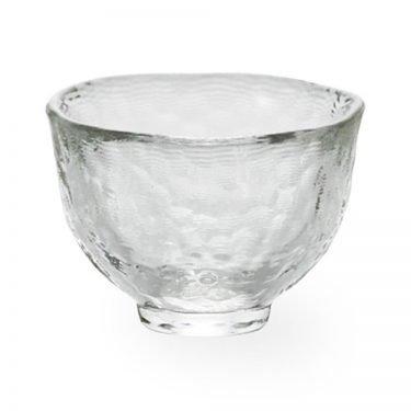Tsugaru Vidro Sake Cup - Handmade Heat-Resistant Glass Large