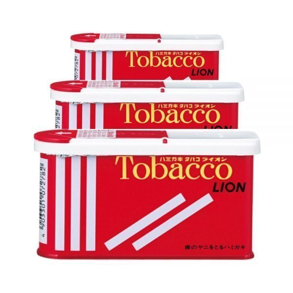 LION Tobacco Toothpaste Powder 3 Cans