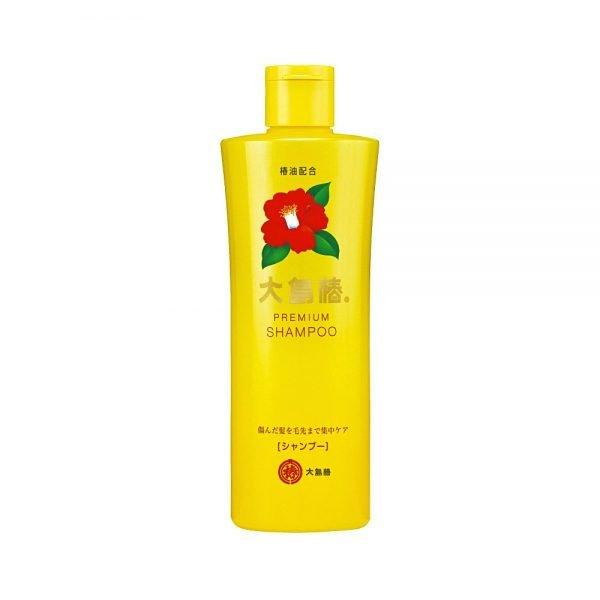 Oshima Tsubaki Premium Shampoo - 100% Pure Camellia Oil Animal-Test Free