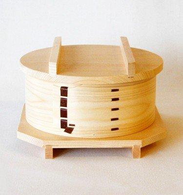 Magewappa Seiro Steam-Basket Size 5 - Handmade Microwavable