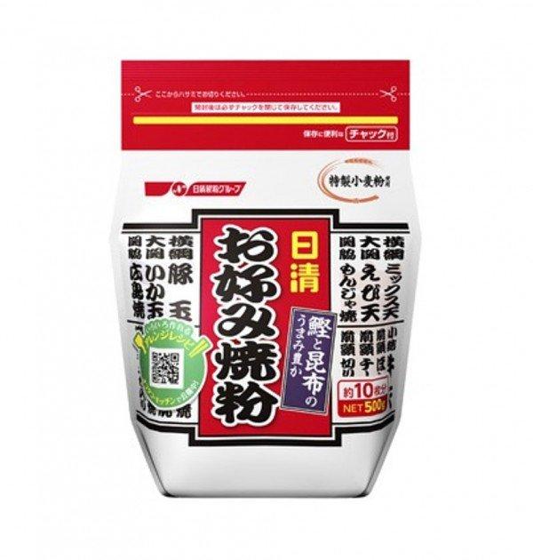 NISSIN Okonomiyaki Flour Mix - 500g Made in Japan