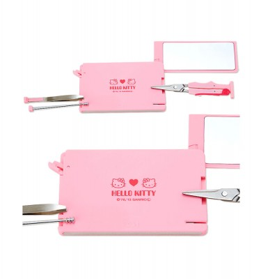 HELLO KITTY Grooming Card - 7 Tools