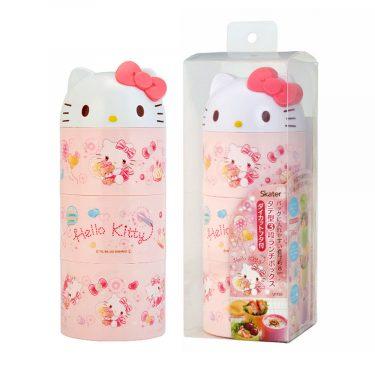 Hello Kitty Triple Lacquer Box Sakura Box Made in Japan