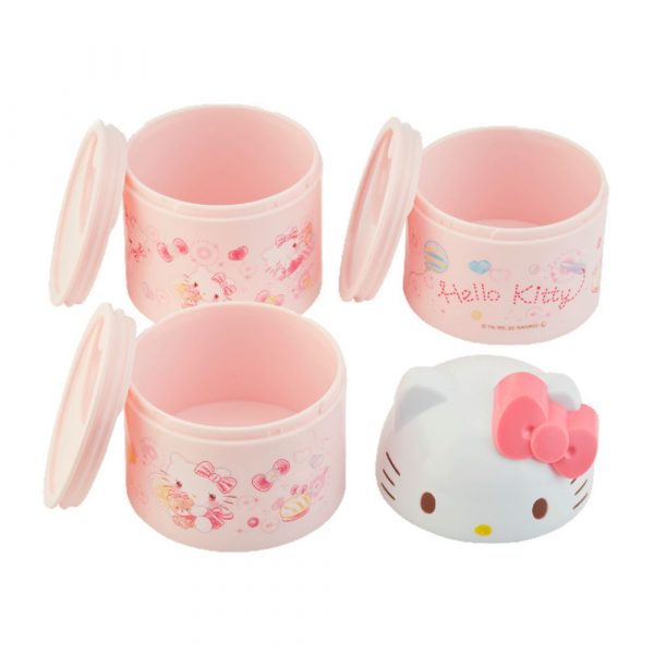Hello Kitty Triple Lacquer Box 3pcs Box Made in Japan