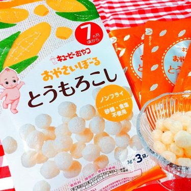KEWPIE Vegetable Boro Biscuits Corn Made in Japan