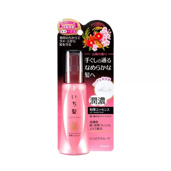 KRACIE Ichikami Herbal Hair Treatment Essence with Rice Bran