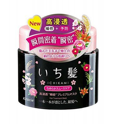 KRACIE Ichikami Herbal Smooth Care Premium Mask - Wild Sakura 180g