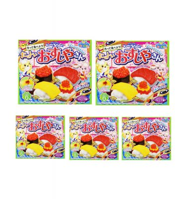 KRACIE Popin' Cookin' Happy Sushi House x 5 Pcs