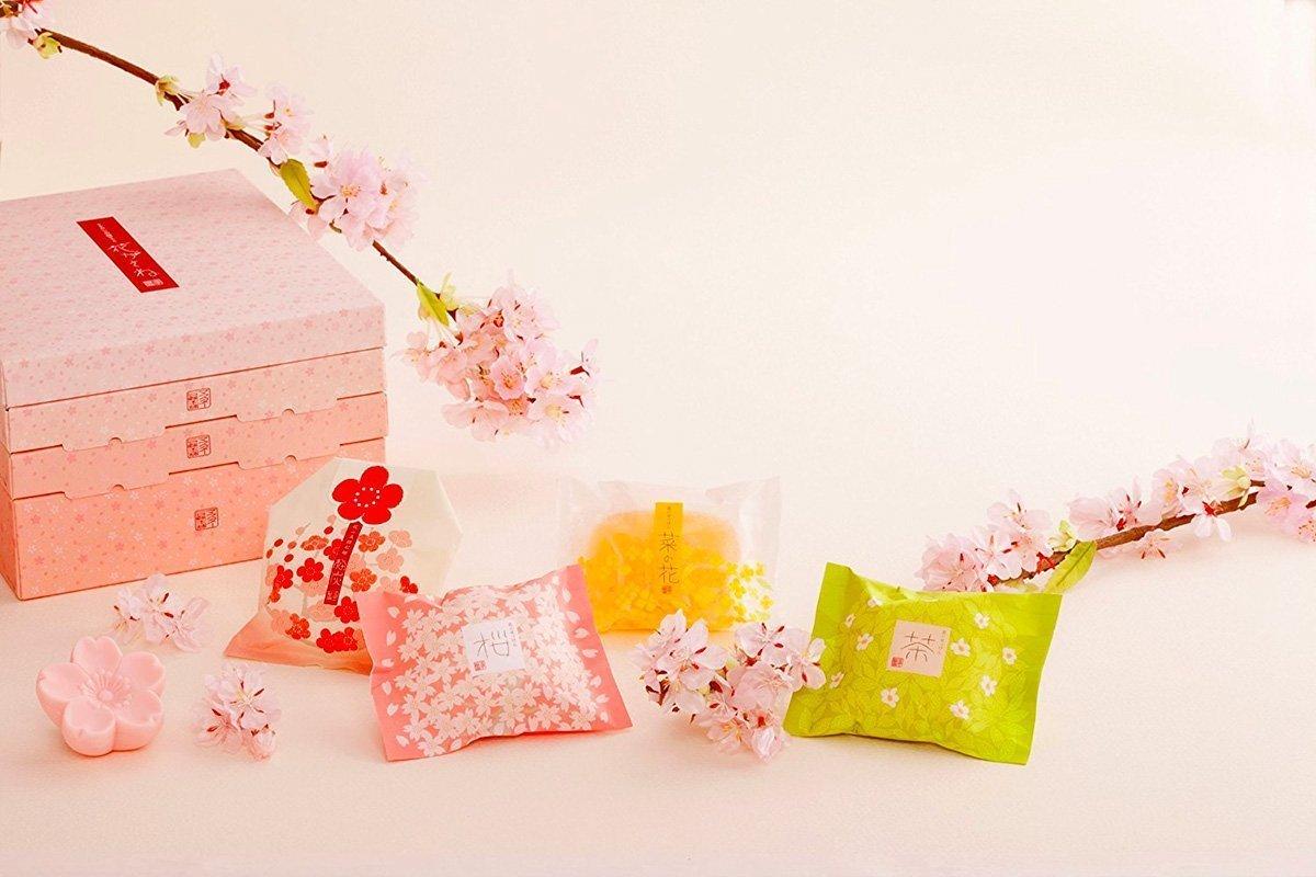 MASTER Flower Soap Set Sakura and Green Tea
