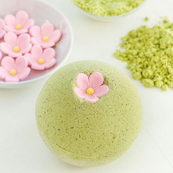 MASTER Flower Soap Set Sakura and Green Tea