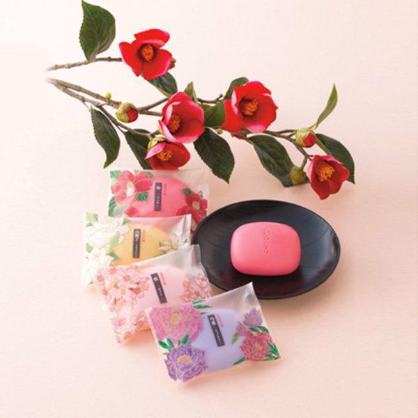 MASTER Sakura Tsubaki Peony and Gardenia Soap Bar Set