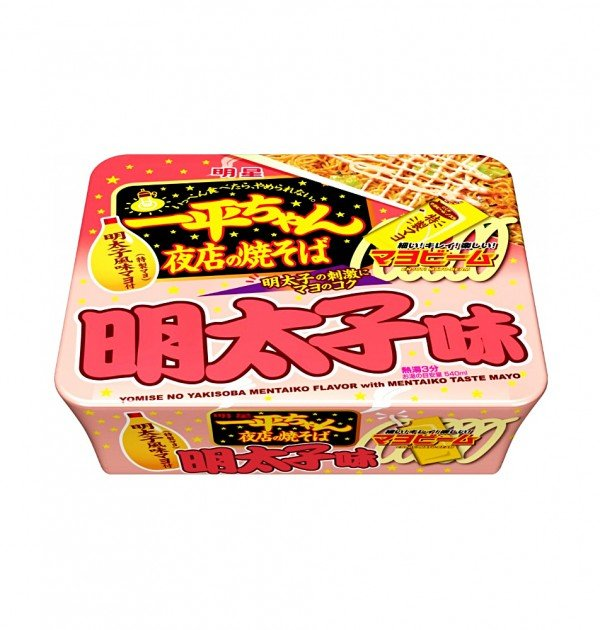 MYOJO Ippeichan Yakisoba Japanese Style Instant Noodles with Mentaiko Mayonnaise x 12pcs