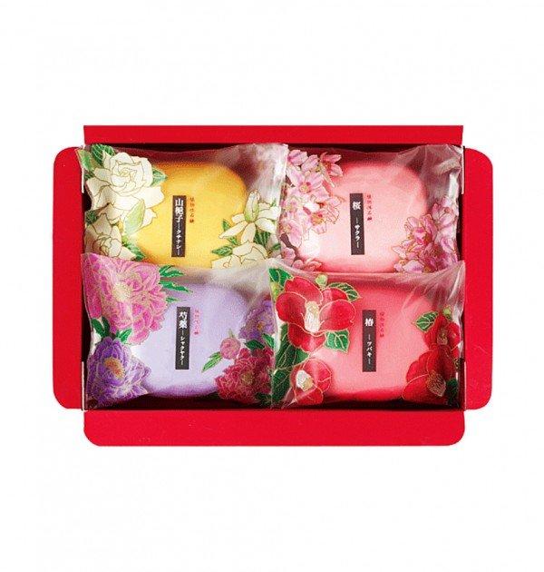 MASTER Sakura Tsubaki Peony and Gardenia Soap Set