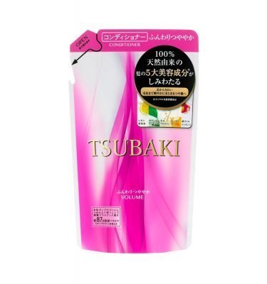 NEW SHISEIDO Tsubaki Volume Touch Conditioner REFILL 330ml Made in Japan