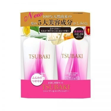 NEW SHISEIDO Tsubaki Volume Touch Shampoo Conditioner Set Made in Japan
