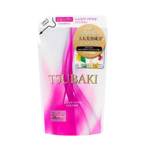 NEW SHISEIDO Tsubaki Volume Touch Shampoo REFILL 330ml Made in Japan