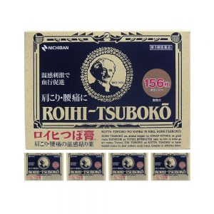 NICHIBAN Roihi Tsuboko Pain Relief Patches – Best Seller 156 x 5pcs