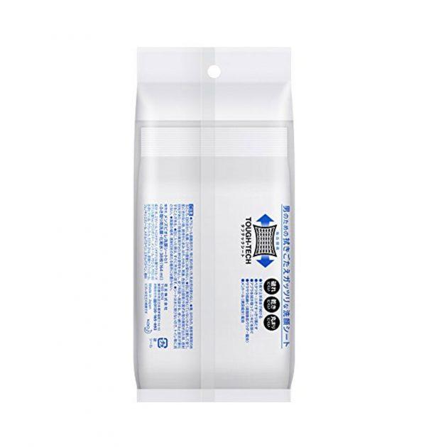 KAO Men's Biore Facial Wash Sheet - Cool 48 Sheets