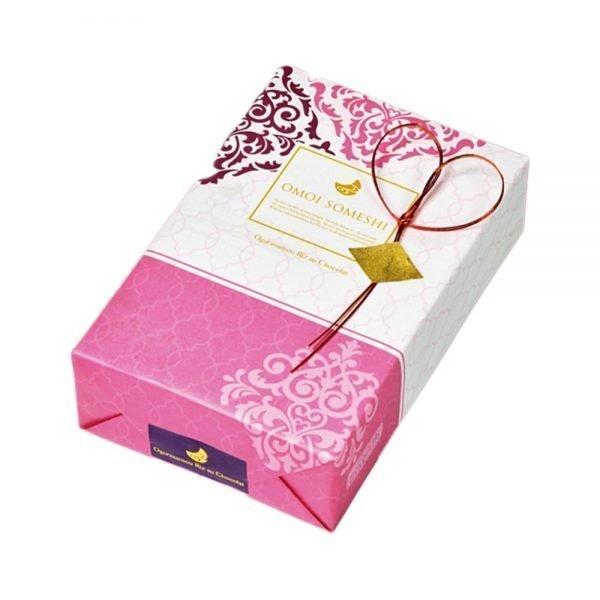 OGURA Chocolate Coated Arare Spicy Rice Cracker - Special Valentine Box Small