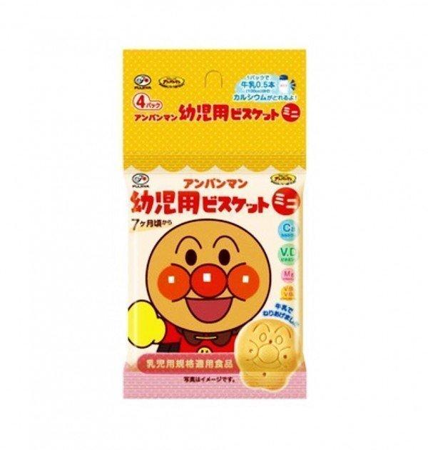 FUJIYA Anpanman Baby Biscuits from 7 Months - Mini Type 65g