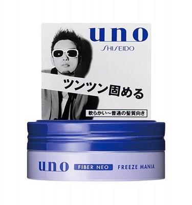 SHISEIDO Uno Fiber Neo Hair Wax - Freeze Mania 80g