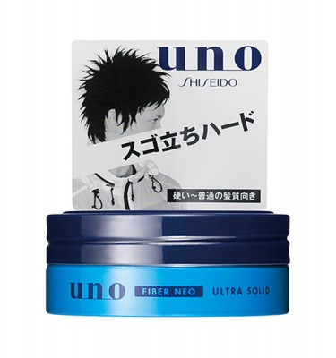 SHISEIDO Uno Fiber Neo Hair Wax - Ultra Solid 80g