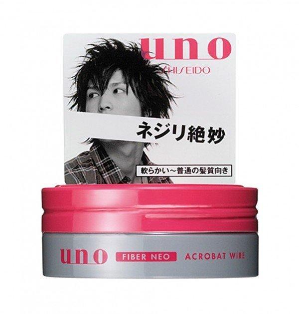 SHISEIDO Uno Fiber Neo Hair Wax - Acrobat Wire 80g