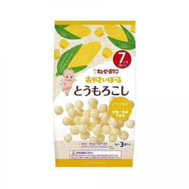 KEWPIE Vegetable Boro Biscuits - Corn 3g x 3 Bags